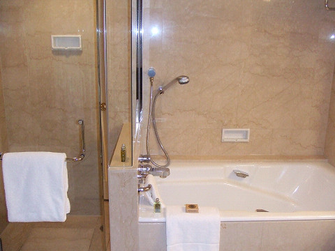 浴槽、シャワー