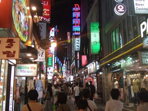 ソウルの夜