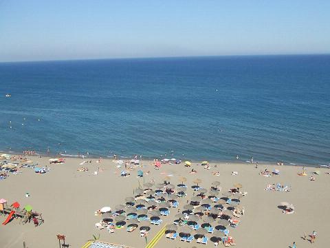 スペインの海