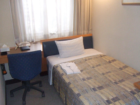 ホテルの室内