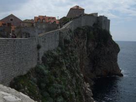 Dubrovnikの城壁