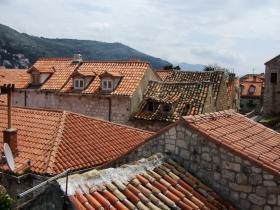 城壁の上から見たDubrovnik④