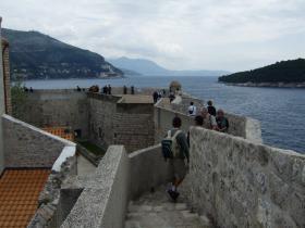 Dubrovnikの城壁③
