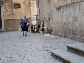 Dubrovnikの猫⑨