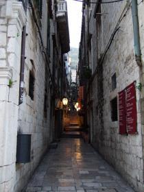 黄昏時のDubrovnik旧市街②