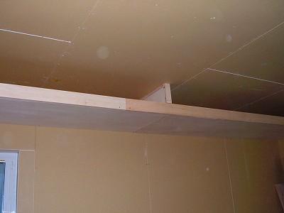 寝室・下がり天井