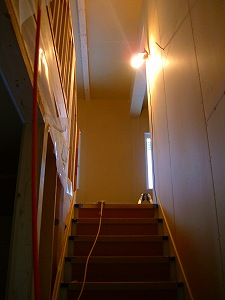 1階から中2階の眺め