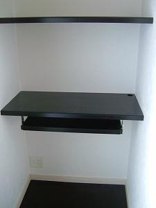 寝室・パソコンカウンター