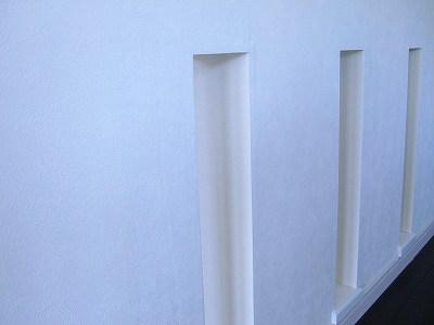 腰壁の壁紙の修正後