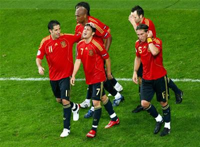 スペイン勝利