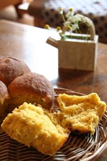 2008 0515 かぼちゃパン