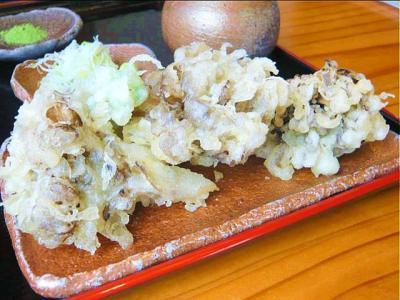 08-5-5 舞茸の天ぷら