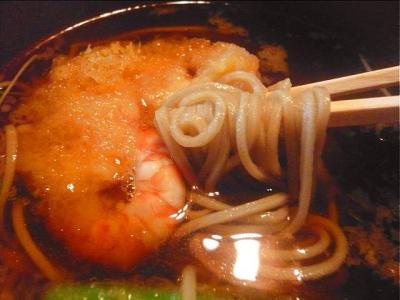 08-7-7 天ぷらそば食べ