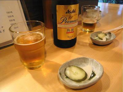 08-8-7 夜ビール
