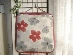 花柄 浴衣収納バッグ