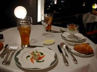 04/9/1 入籍しました♪品川のホテルでお祝いしました