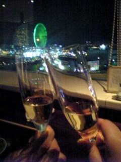 マリッジリングの交換は 横浜の某ホテルで♪