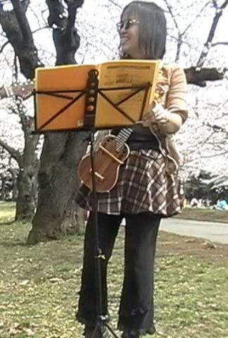 08/3/27 代々木公園で♪