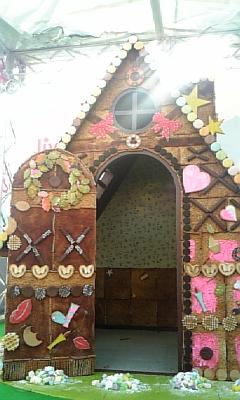 お菓子の家☆