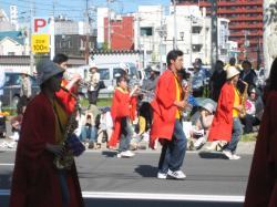 昨年(2007年)の北海道音楽大行進