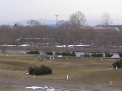 パークゴルフ場の雪もほとんどなくなりました♪