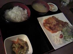 豚ロースソテー(トマトソース) 800円