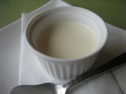 asatanのクーポンでミルクプリンのデザートGET!
