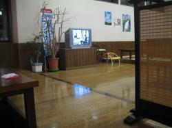 お風呂上がりはお食事処でひと休み(^^)