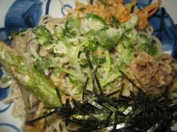 野菜の天ぷらがおいしい♪