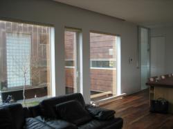 窓から見える外壁は銅板だそうです。