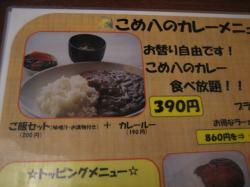 390円で食べ放題のカレーって・・・o(^-^)o