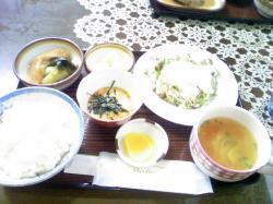 野菜定食 650円
