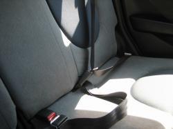 後部座席のシートベルト