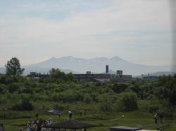 今朝(6/25)の大雪山
