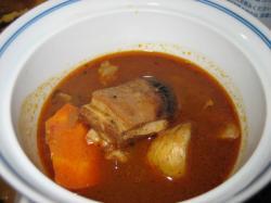 士別ラム肉スープカレー
