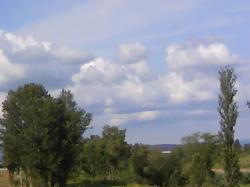 巨大な雲のかたまり