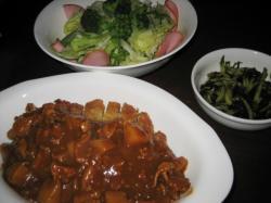 昨日の夕食です(^^)