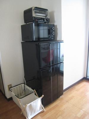 アパート 冷蔵庫