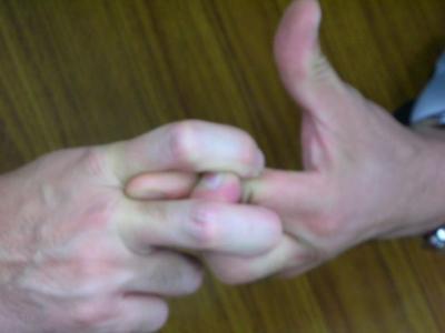 指四の字固め