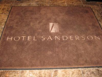 HOTEL SANDERSON(ホテルサンダーソン)