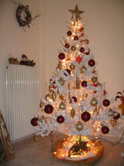 2007年、うちの今年のクリスマスツリー