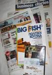新聞「セマ」とそのおまけの雑誌、DVD
