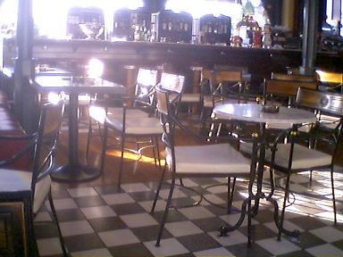 カフェ・スタスモスの内部1