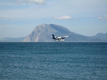 水上離着陸機の飛び立つ瞬間3