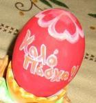 復活祭用に作った卵1