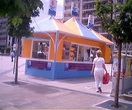 パトラス文化首都2006チケットブース