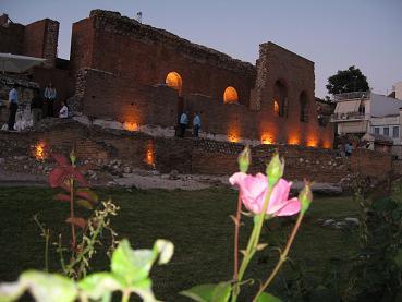 パトラスの古代劇場、ロマイコ・オディオ