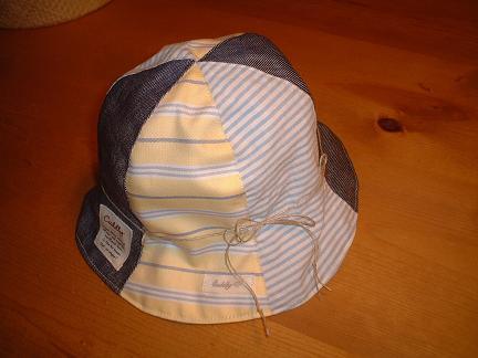 パッチ帽子