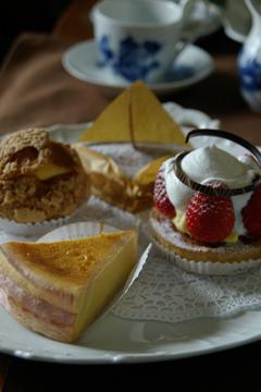 VANILLEのケーキ
