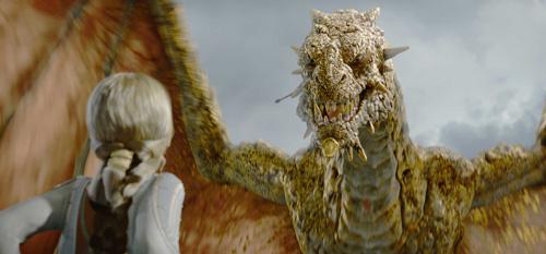龍 ベオウルフの・・・